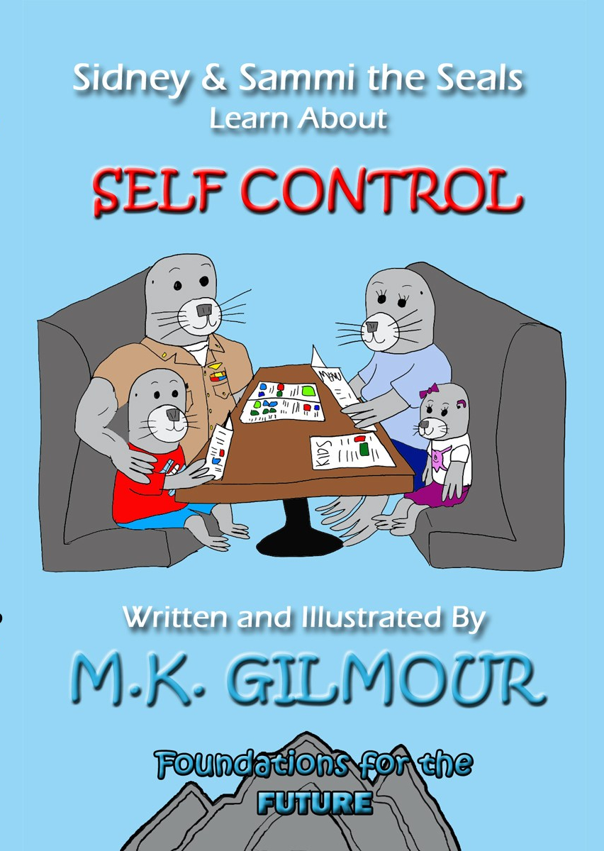 Sidney the Seal Learns About Self Control Cover3